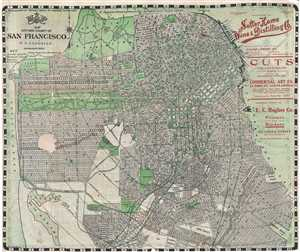 1906 Candrian Map or Plan of San Francisco, California