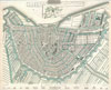 1835 S.D.U.K. City Map or Plan of Amsterdam, The Netherlands , Amsterdam.