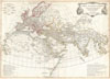 1794 Anville Map of the Ancient World , Orbis Vetribus Notus.