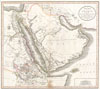1811 Cary Map of Arabia, Egypt & Abyssinia , A New Map of Arabia, including Egypt, Abyssinia, the Red Sea & c. & c. from the latest Authorities.