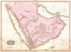 1818 Pinkerton Map of Arabia & the Persian Gulf , Arabia.