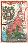 A Map of Cameroun. - Main View Thumbnail