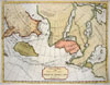 1754 De Fonte Map of the Northwest Passage (America / Asia / Polar) , A General Map of the Discoveries of Admiral De Fonte & Others by M. De L�Isle