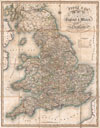 1830 Pigot Pocket Map of England and Wales , Pigot & Co.'s New Map of England & Wales with part of Scotland Including the New Lines of Canals, Rail Roads, &c.