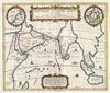 1658 Jansson Map of the Indian Ocean (Erythrean Sea) in Antiquity , Errythraei Sive Rubri Maris Periplus.