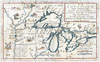 1696 Coronelli Map of the Great Lakes (Most Accurate Map of the Great Lakes in the 17th Century) , La Louisiana, Parte Settentrionalle, Scoperta sotto la Protettione di Luigi XIV, Re di Francia et Descritta, e Dedicata Dal P. Cosmografo Coronelli, All'Illustriss, et Eccellentiss, S. Zaccaria Bernardi su dell Ecc. S. Francesco.