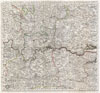 1773 Kitchin Map of the Country 30 Miles around London, England , A Map of the Countries Thirty Miles Round London.