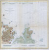 1853 U.S.C.S. Map of Minots Ledge, near Boston Harbor ( Cohasset ) , (Sketch A No. 3)  Minots Ledge Off Boston Harbor.