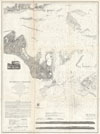 1858 U.S.C.S. Map or Chart of Martha's Vineyard or Muskeget Channel , (A No. 5) Preliminary Chart of Muskeget Channel Massachusetts.