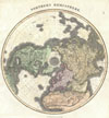 1814 Thomson Map of the Northern Hemipshere & Arctic , Northern Hemisphere.