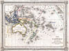 1852 Bocage Map of Australia and Polynesia , Carte de L'Oceanie dressee ET dessinee sous laDirection de Mr. J. G. Barbie du Bocage.