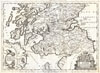 1690 Coronelli Map of Southern Scotland (Edinburg and Glasgow) , Scotia, Parte Meridionale �