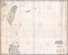 1876 Imray Blue-back Nautical Chart or Map of Taiwan (Formosa), China , East India Archipelago [Eastern Passages to China andJapan] [Chart No. 7]