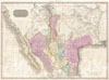 1818 Pinkerton Map of the American Southwest ( California, Louisiana,  New Mexico, Texas ) , Spanish Dominions in North America Northern Part.